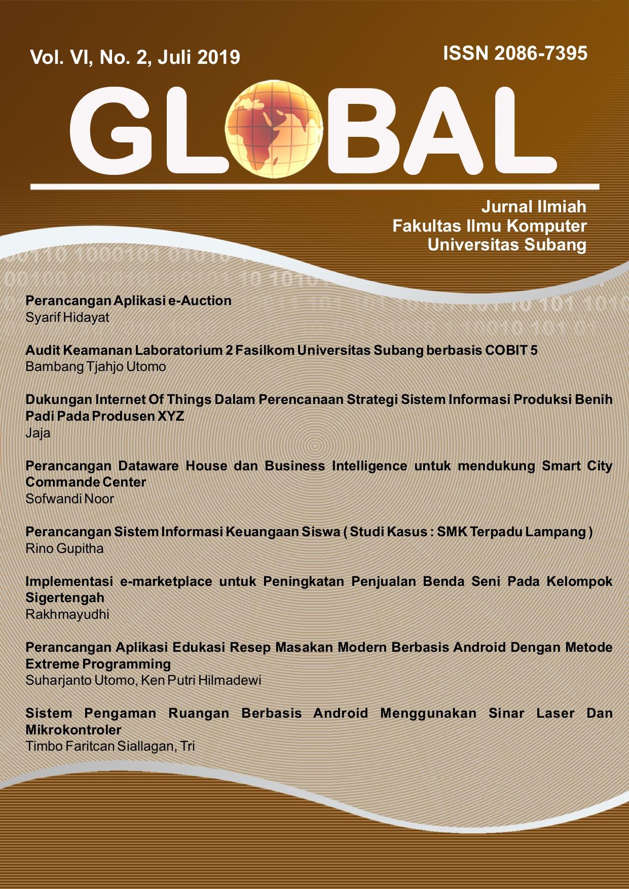 View Vol. 6 No. 2 (2019): GLOBAL